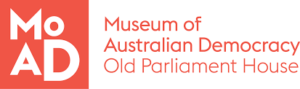 Museum of Australian Democracy logo